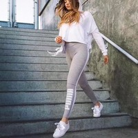 One-nice™ PUMA Fashion Exercise Fitness Gym Yoga Running Leggings Sweatpants
