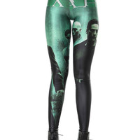 Matrix Poster Movie Print Leggings