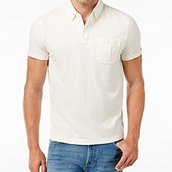 Tommy Hilfiger Men's Mike Custom-Fit Button-Down Polo