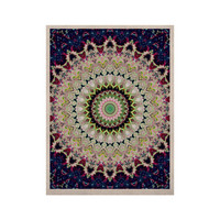"""Iris Lehnhardt """"Summer of Folklore"""" Pink Navy KESS Naturals Canvas (Frame not Included)"""