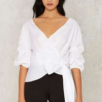 Ingrid Wrap Top