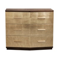 Verdura Brushed Gold Accent Chest
