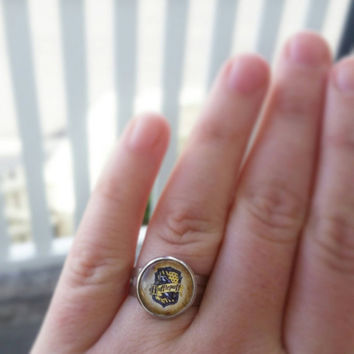 Adjustable Harry Potter inspired House Crest ring