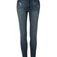 LE3NO Womens High Rise 5 Pocket Style Skinny Denim Jeans