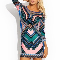 Fresh Prints Bodycon Dress