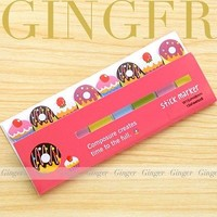 Donut Cupcake Funny 120 Pages Sticker Post It Bookmark Marker Tab Sticky Notes