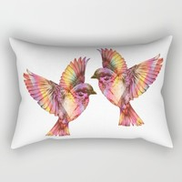 Sparrows Rectangular Pillow by Inspired Images