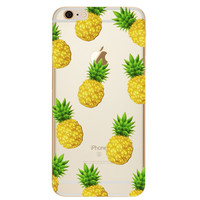 Pineapples Phone Case For iPhone 7 7Plus 6 6s Plus 5 5s SE