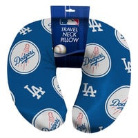 Los Angeles Dodgers MLB Beadded Spandex Neck Pillow (12in x 13in x 5in)