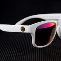 Cruiser Sunglasses: White