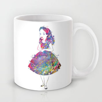 Alice in Wonderland Mug by Bitter Moon