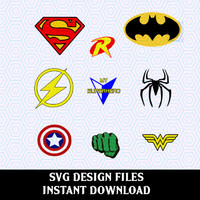 Super Hero SVG Print & Cut,  Vector SVG files, T Shirt Design for Silhouette Cameo Cut Files, Svg Cricut Cut Files, Svg Font, Svg Cut Files