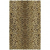 Kaleen Kanha Ashanti Mocha Contemporary Rug - 6607-60-579 - Animal Print Rugs - Area Rugs by Style - Area Rugs