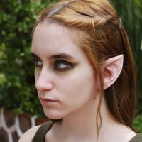 Wood Elf Latex Prosthetic Ears - Elven Link Cosplay LARP