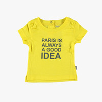 Imps and Elfs Paris Tee - Yellow - 2155005 - FINAL SALE