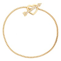 kate spade new york 'love list' crystal bracelet | Nordstrom