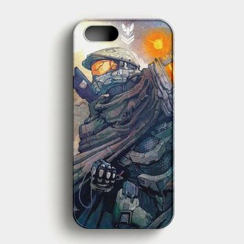Halo Master Chief iPhone SE Case