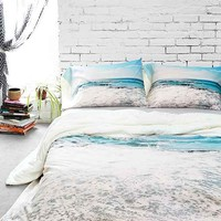 Lisa Argyropoulos For DENY Take Me There Duvet Cover- Blue