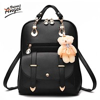 Women backpack new spring and summer students backpack women Korean style backpack .