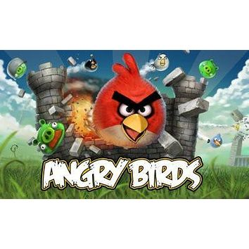 Angry Birds Poster 27inx40in Video Game logo art #A 27inx40in