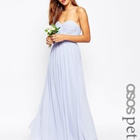 ASOS Petite | ASOS PETITE WEDDING Multiway Mesh Maxi Dress at ASOS