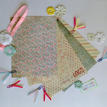 Erin Condren planner and school notebook covers, dividers, elastic band and clips package!