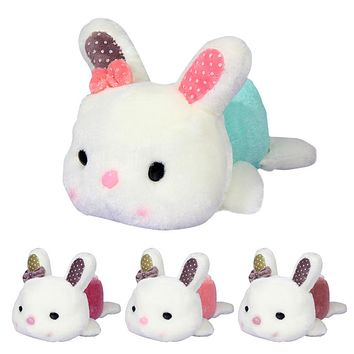 Cute Baby Soft Toys Bow knot Rabbit Little Bunny Stuffed Animals for Baby Girls Birthday Christmas Gift
