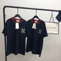 GUCCI x NY Women Short Sleeve Bowknot Top