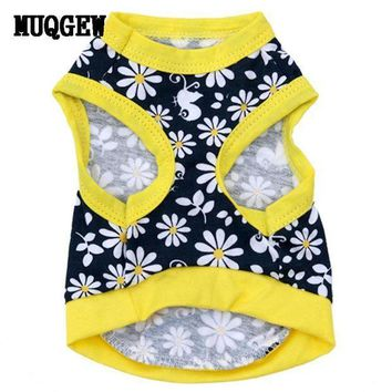 PEAPG2Q Super Deal Summer New dog pet clothes Products 2016 dog clothing Dog clothes Cat Wear Pet Vest Shirts Small Dogs chihuahua XT