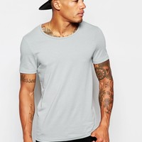 ASOS | ASOS Muscle Fit T-Shirt With Scoop Neck And Stretch at ASOS
