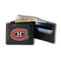 Montreal Canadiens NHL Embroidered Trifold Wallet