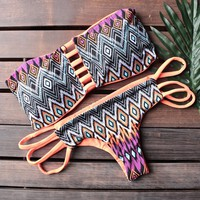 khongboon swimwear - safi handmade two-piece bikini with reversible brazilian-cut bottom