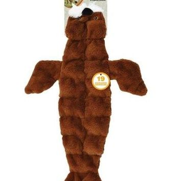 """Ethical Pet Skinneeez Tons-O-Squeakers Walrus Dog Toy 21"""""""