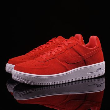 whosale online nike air force 1 ultraforce track red