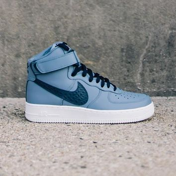NIKE - Men - Air Force 1 High LV8 - Ash Blue/White