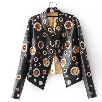 The Rad Chick Vegan Leather Jacket, All Sizes