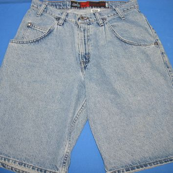 90s Levis Silver Tab Baggy Men's Jean Shorts Size 30