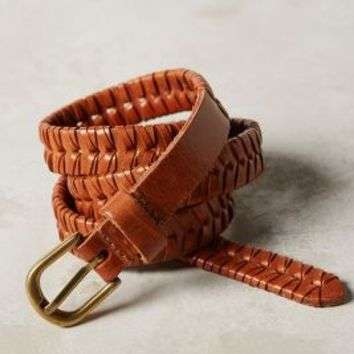 Carosello Belt by Anthropologie in Brown Size:
