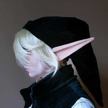Super Long Link Elf Latex Ears - LIMITED QUANTITY -  Elven Cosplay Halloween Fantasy LARP Elf ears