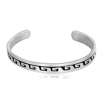 Dans Jewelers Native American Indian Inspired Tribal Waves Bracelet Fine Pewter Jewelry