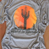 hard to handle-unisex tee