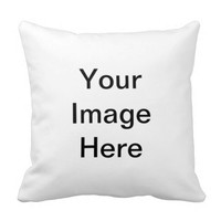Make Your Own Custom Image Text Decorative Throw