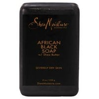 Shea Moisture Acne Prone & Trouble Skin African Black Soap with Shea Butter - 8oz