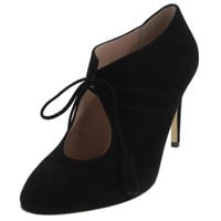 Kate Spade Womens Davie Suede Heels Booties
