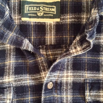Field & Stream thick flannel