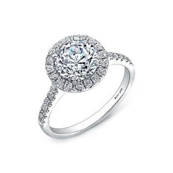 Bony Levy Halo Cushion Pavé Diamond & Cubic Zirconia Ring (Nordstrom Exclusive) | Nordstrom