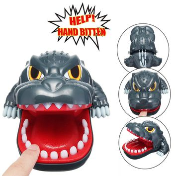 Funny Terror Big Mouth Dinosaur Bite Finger Tricky Toy Games for Parent-child Kid Playing Game Novelty Gag Toy Gift