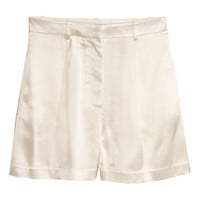 H&M Satin Shorts $39.99