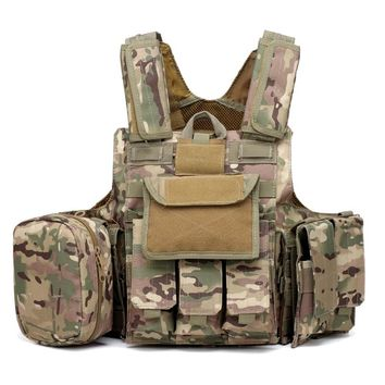 Multicam Army Military Tactical Vest