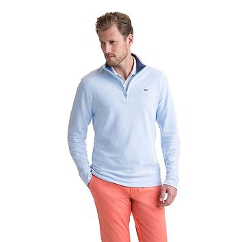 Saltwater 1/4-Zip in Ocean Breeze by Vineyard Vines